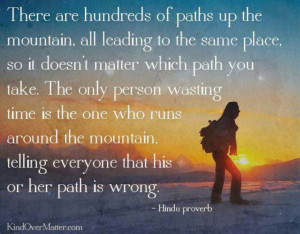 The right path quote