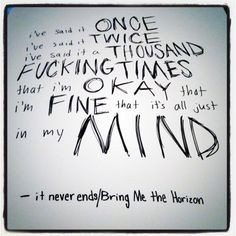 It never ends: BMTH More