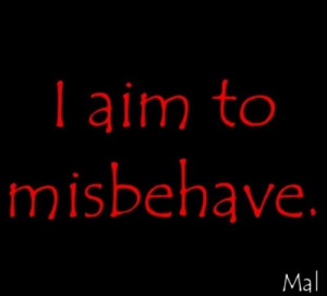 Firefly quotes, famous, best, sayings, misbehave