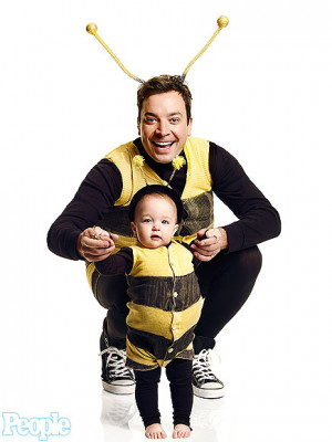 Jimmy Fallon photographed with daughter Winnie Rose Fallon