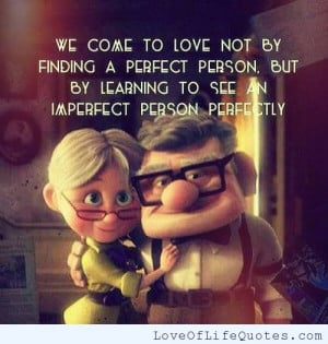 Finding the perfect person to love