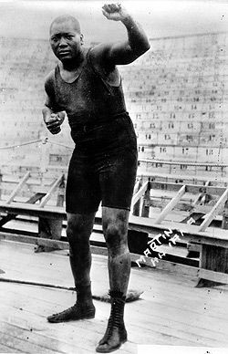 Jack Johnson's dominance in the boxing rings of the early 20th century ...