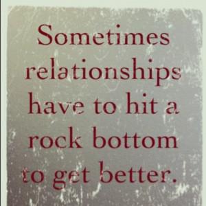 rock bottom quotes quotesgram