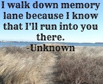 Walking Down Memory Lane Quotes