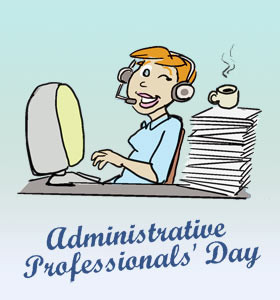 Administrative Professionals' Day in 2015