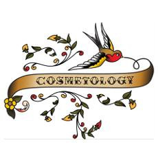 Cosmetology Scroll Poster