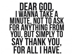 thank you god for another day