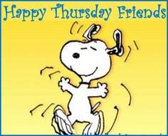 quote friends snoopy thursday thursday quotes happy thursday happy ...