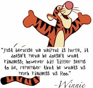 Winnie the Pooh - kindness