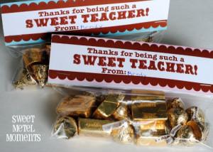 Free Printable - Teacher Appreciation Gift -