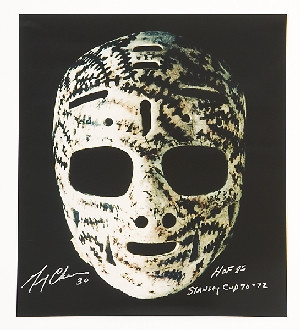 Gerry Cheever's Goalie Mask