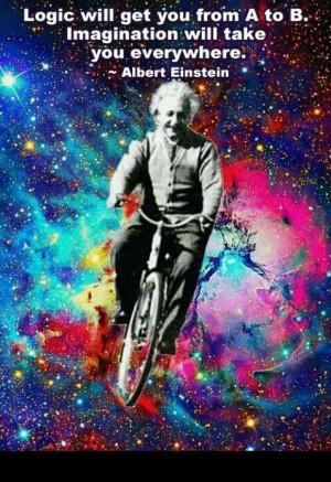 Quote Albert Einstein imagination