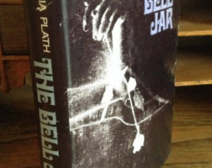 The Bell Jar by Sylvia Plath - hard cover with dust jacket 1971 rare ...