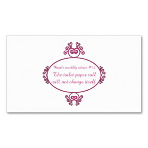 New Mommy Advice Card Template http://www.pic2fly.com/New+Mom+Advice ...