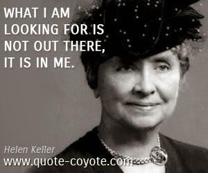 Helen Keller, my Heroine