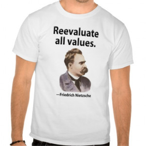 Reevaluate all values. shirts from Zazzle.com
