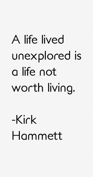 Kirk Hammett Quotes & Sayings