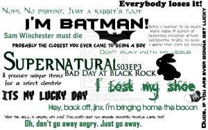Supernatural quote #2