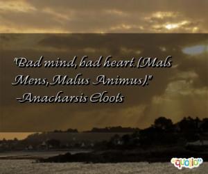 Bad mind, bad heart. (Mals Mens, Malus