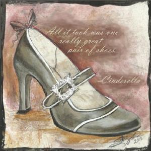 Marilyn Monroe Shoe Quote