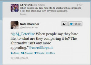 stealing my quote nope thanks to nate starcher who quickly caught it ...