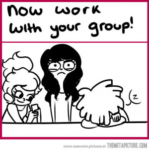 Funny photos funny school group work