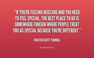 Feeling Insecure Quotes Tumblr Picture