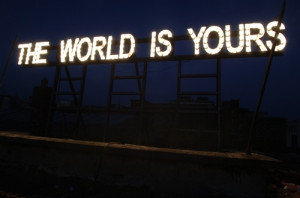 gardar eide einarsson, lights, neon, signs, text, words, world