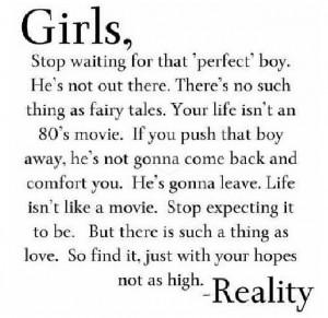 Dear Girls this is TRUE