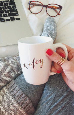 adorable wifey mug for the special lady is creative inspiration for us ...