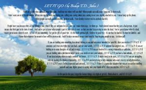 Let It Go TD Jakes Image