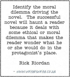 ve always liked the idea that writing is a form of travel. And I ...