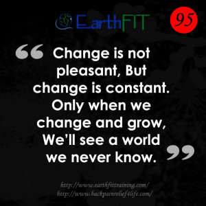 Personal Trainer Quotes Earthfit quote of the day