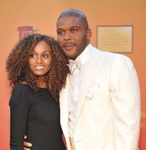 Gelila Bekele And Tyler Perry 2014