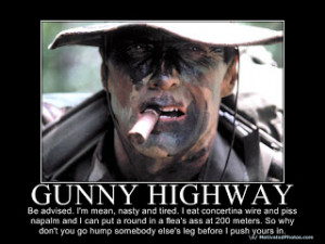 Don't Ask; Don't Tell...What Would Gunny Highway Do?