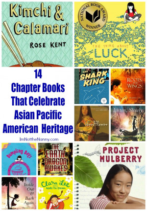14 Chapter Books That Celebrate Asian Pacific American Heritage