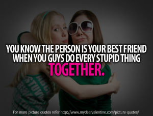 Funny Friendship Quotes - You know the person
