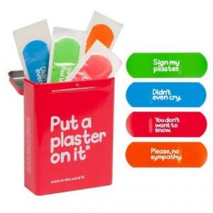 ... Waldo Pancake Tin of Plasters - Humorous quotes - Novelty Plasters