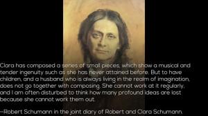 Clara Schumann Slides w Quotes