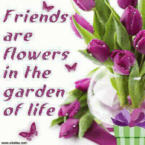 nice friendship quotes thoughts flower garden life jpg