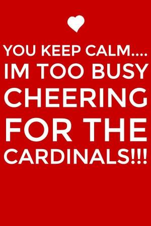 Go Cardinals!!!!!