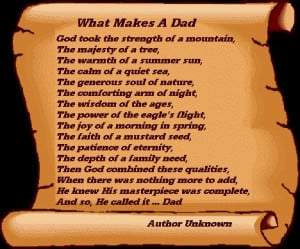 What Makes A Dad
