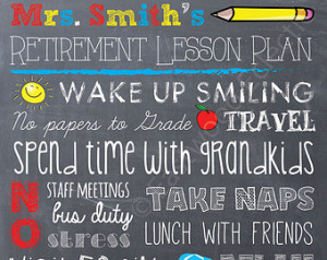 Quotes Retirement Music Teacher ~ Popular items for teacher retirement ...