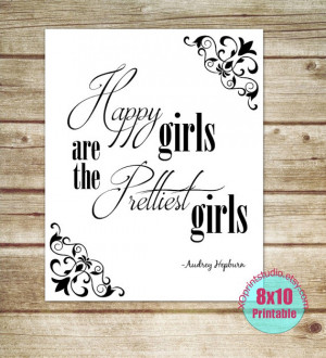 Instantly Yours! Printable inspirational quote by Audrey Hepburn Quote ...
