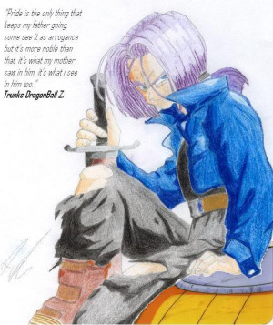 Dragon Ball Z Future Trunks Quotes