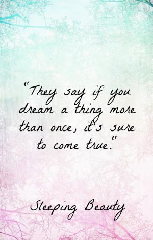 Sleeping Beauty quotes, Disney wisdom