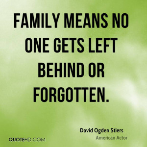 David Ogden Stiers Family Quotes