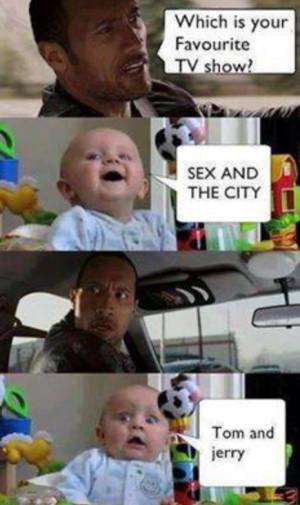 Funny the rock meme