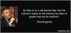 More Paul Krugman Quotes