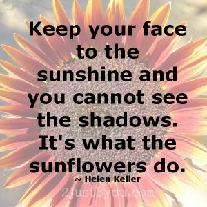 Do you have a favorite quote or saying about summer or sunshine?